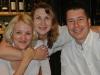 Gabriela Revicka s manzelom a s priatelkou Hankou z Australie